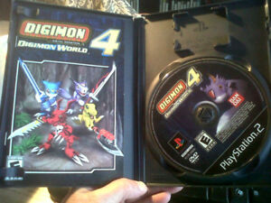 ** DIGIMON 4 - PLAYSTATION 2 **