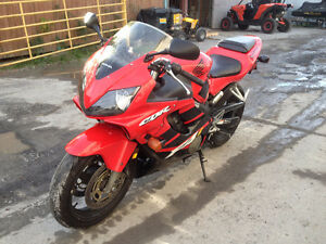 2002 Honda CBR600 F4i / Safetied & Serviced