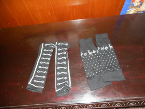 FS: 2 Pairs of Baby Leg Warmers