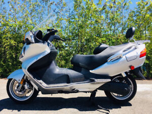 2003 Suzuki Burgman 650 with only 3615 kms!