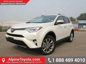 2017 Toyota RAV4 AWD Limited  Limited - AWD - Nav - Heated Seats