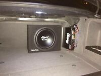 MpowerAudio Car Audio installs Stereo Subwoofers Amplifiers xenons 6x9 LED Angel eyes navigation GPS