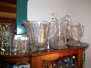 COLLECTION OF ANTIQUE EARLY CANADIAN PRESSED GLASS Sarnia Sarnia Area image 4