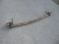 Antique Ford axle beam and spindles