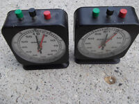 2 TIMERS - SMITHS - Old - MADE IN GERMANY