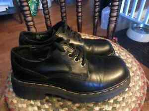 REDUCED: Dr. Martens double-sole shoes UK 7, used. Docs