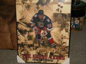 Wayne Gretzky Frame Picture (4 Teams) w/ Highlight Cards!