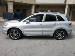 """2008 Acura RDX Technology Package with 19"""" Aspec OEM Acura Rims"""