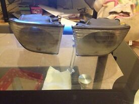 Lexus is200 fog spot sport light pair 98-05 breaking spares can post is 200 is300