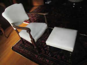 Matching Vintage Chair and Stool