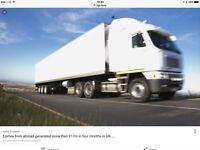 Class 1 HGV Driver Available