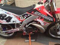 Honda cr250 fully restored brand new
