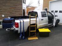 Transports de meubles et petits déménagements à bas prix!