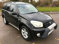 Superb Specification 2005 RAV XT3 2.0 Petrol 5 Dr Full Crome Pack 84000 Miles...
