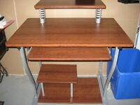 REDUCED! Student Desk Cherry Colour was $50.00 now $40. obo