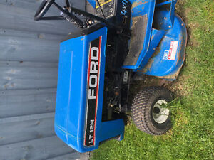 FORD LT12H RIDING LAWNMOWER  WITH  HYDROSTATIC TRANSMISSION