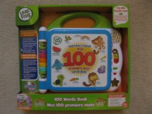 Leap Frog 100 Words Book (Brand New In Box)