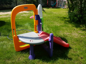 Little Tikes play center with slide