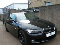 "07 07 BMW 325i COUPE SPORT SE AUTO 2DR 18"" ALLOYS BLACK LEATHER CRUISE CLIMATE"