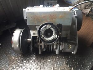 Old running sled motors