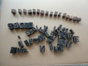 1 and 3/8 inch Old Font Wooden BLOCKS