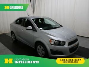 2014 Chevrolet Sonic LT A/C GR ELECT BLUETOOTH