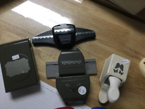 Various Scrapbooking Punches