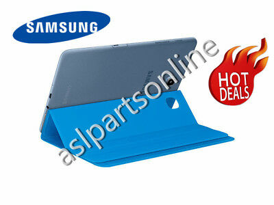 "NEW Genuine Samsung Galaxy Tab A 8.0"" SM-T350 Book Case Cover Canvas BLUE  for sale  Shipping to India"