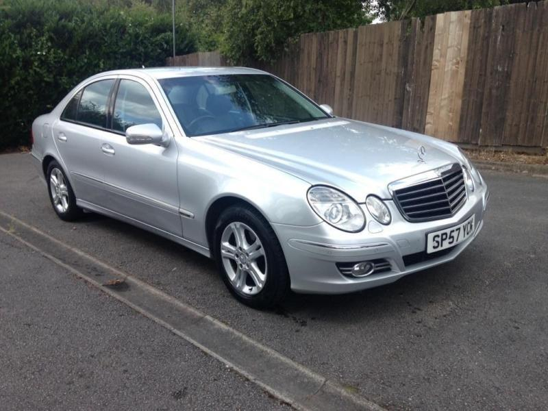 2007 mercedes benz e class 2 1 e220 cdi avantgarde 4dr in small heath west midlands gumtree. Black Bedroom Furniture Sets. Home Design Ideas