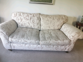 Peter Guild 3 seater settee and matching armchair