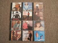 12 ASSORTED CD'S $1.00 EACH