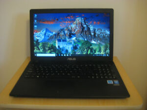 "15.6"" Asus Laptop, Intel Pentium CPU, 6GB RAM, 750GB HDD, DVD"