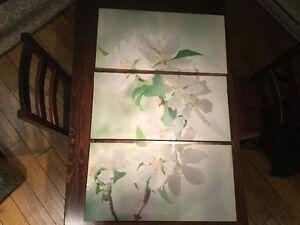 Cadre motif fleur