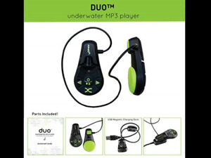 FINIS Duo Underwater MP3 Player Black/Acid Green