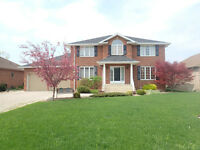 Pointe West Home with No Rear Neighbors in Amherstburg