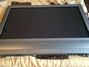 Large Panasonic monitor