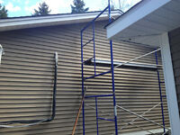 Siding soffit fascia eavestrough windows and doors