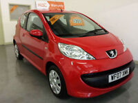 2007 PEUGEOT 107 1.0L URBAN - FULL SERVICE HISTORY - 1 YEARS ROAD TAX ONLY £20