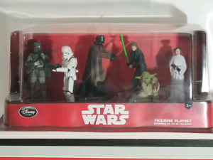 Sar Wars Disney Store Exclusive Figurine Set - 6 Figures