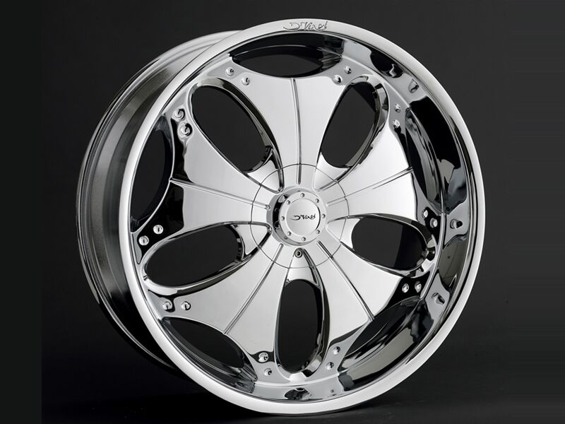 24 Inch Pasha Dvinci Wheels Rims&tires Fit Chevy&ford 6 &5 Lug Truck Or Suv Deal