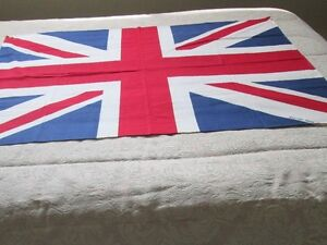DRAPEAU UNION JACK EN TISSU - BRITISH MADE - 1940