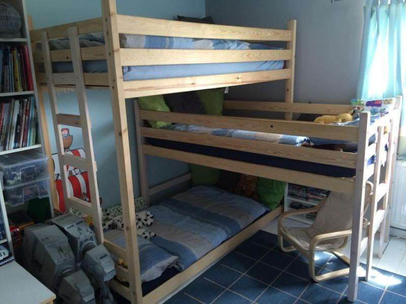 Triple Bunk Beds Kids Room L Shape In Salisbury Wiltshire Gumtree