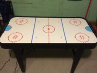 Childs Air Hockey Table