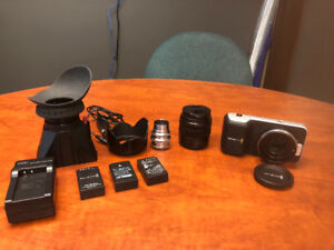 Black Magic Camera with accessories for sale