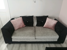 2 seater, 3 seater and cuddle chair