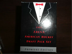 1991 Arena Hockey Draft Pick set of 33 cards