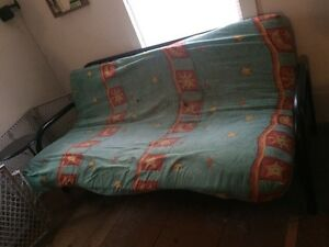 "Futon with 4"" Mattress"