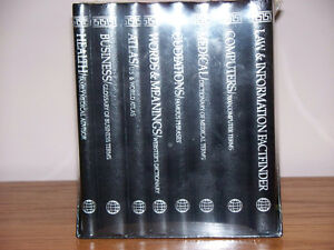 NEW LEXICON LIBRARY OF KNOWLEDGE 8 VOLUME SET (REF)
