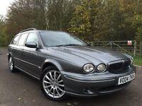 Jaguar X-Type AWD fully loaded satnav+leathers