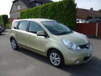 NISSAN NOTE 1.6 AUTOMATIC (2010 REGISTERED)